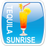 Tequila Sunrise Button